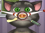 Talking Tom Burun Doktorunda